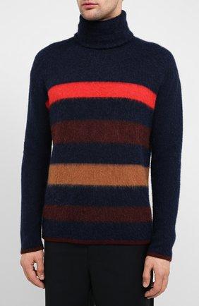 Мужской шерстяной свитер LANVIN темно-синего цвета, арт. RM-P00011-MV02-A20 | Фото 3