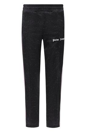 Мужской брюки PALM ANGELS коричневого цвета, арт. PMCA007E20FAB0086401 | Фото 1