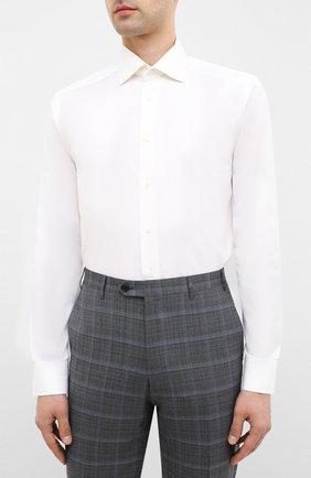 Мужская хлопковая сорочка ETON бежевого цвета, арт. 3000 79511 | Фото 3