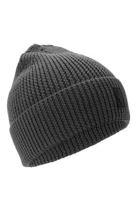Мужская шапка MARCELO BURLON серого цвета, арт. CMLC007E20KNI002 | Фото 1