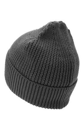 Мужская шапка MARCELO BURLON серого цвета, арт. CMLC007E20KNI002 | Фото 2