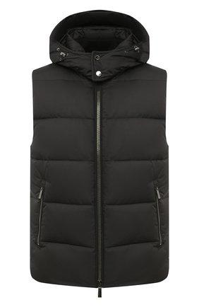 Мужской пуховый жилет fayer-wk MOORER черного цвета, арт. FAYER-WK/A20M080SHWK | Фото 1