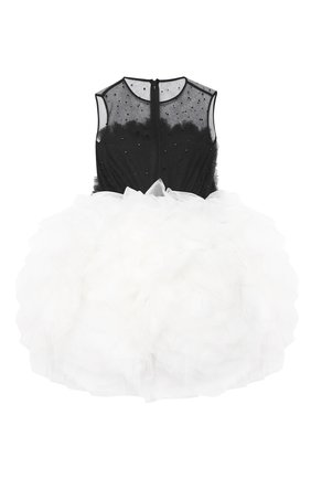 Детское платье kelly SASHA KIM черно-белого цвета, арт. УТ-00000436 | Фото 2