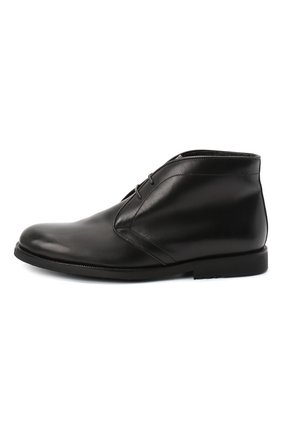 Детские кожаные ботинки RONDINELLA черного цвета, арт. 11755C/662/37-39 | Фото 2