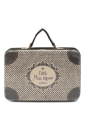 Детский игрушка дорожный чемодан MAILEG серого цвета, арт. 20-7016-00 | Фото 1