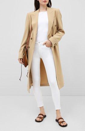 Женские джинсы AGOLDE белого цвета, арт. A123-1013 | Фото 2