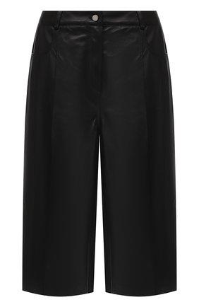 Женские кожаные шорты DROME черного цвета, арт. DPD1991P/D400P | Фото 1