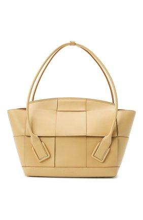 Женская сумка arco 48 BOTTEGA VENETA бежевого цвета, арт. 598244/VMAP1 | Фото 1