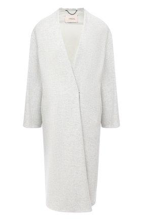 Женское пальто DOROTHEE SCHUMACHER серого цвета, арт. 846011/DASH 0F C0L0UR | Фото 1