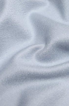 Мужские кашемировый шарф two-tone LORO PIANA голубого цвета, арт. FAI0988   Фото 2
