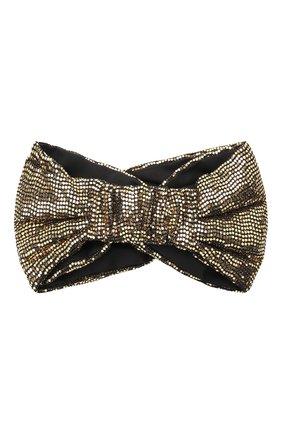Женская повязка на голову GUCCI черного цвета, арт. 623142/3GF41 | Фото 2