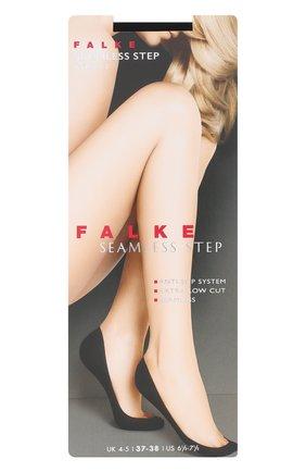 Женские капроновые подследники seamless step FALKE черного цвета, арт. 44033_   Фото 1