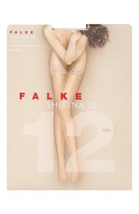 Женские капроновые чулки shelina FALKE бежевого цвета, арт. 41526_ | Фото 1
