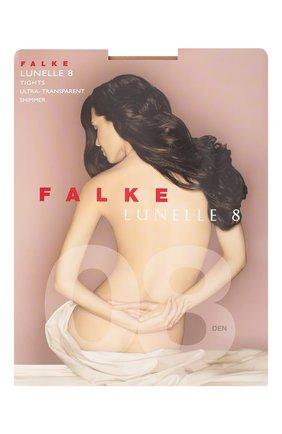 Женские капроновые колготки lunelle FALKE бежевого цвета, арт. 40028_ | Фото 1