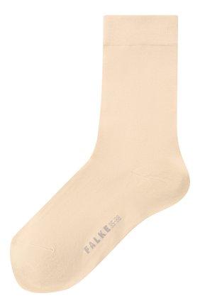 Женские хлопковые носки cotton touch FALKE бежевого цвета, арт. 47673_ | Фото 1
