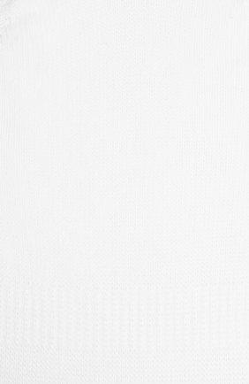 Женские хлопковые подследники step invisible FALKE белого цвета, арт. 47577_   Фото 2
