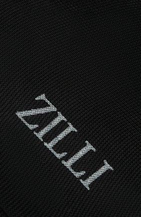 Мужские шелковые носки ZILLI темно-синего цвета, арт. MGQ-BLISS-0S0IE/C001 | Фото 2