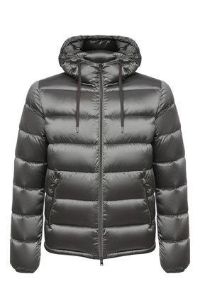 Мужская пуховая куртка HERNO серого цвета, арт. PI060UR/12344 | Фото 1