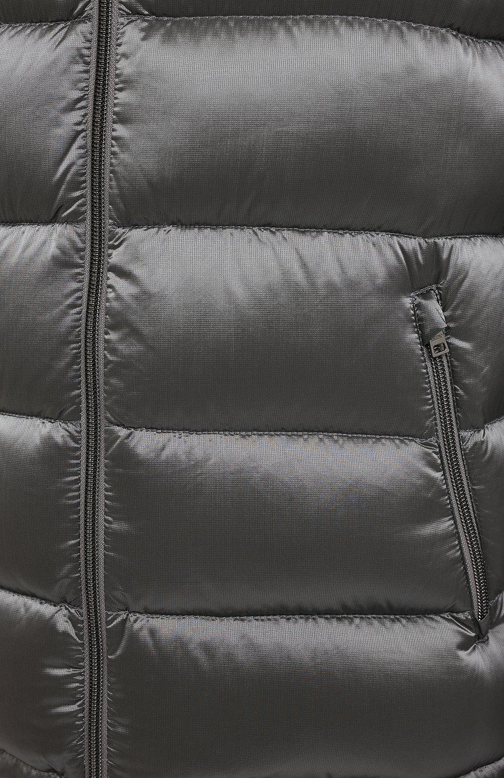 Мужская пуховая куртка HERNO серого цвета, арт. PI060UR/12344 | Фото 5