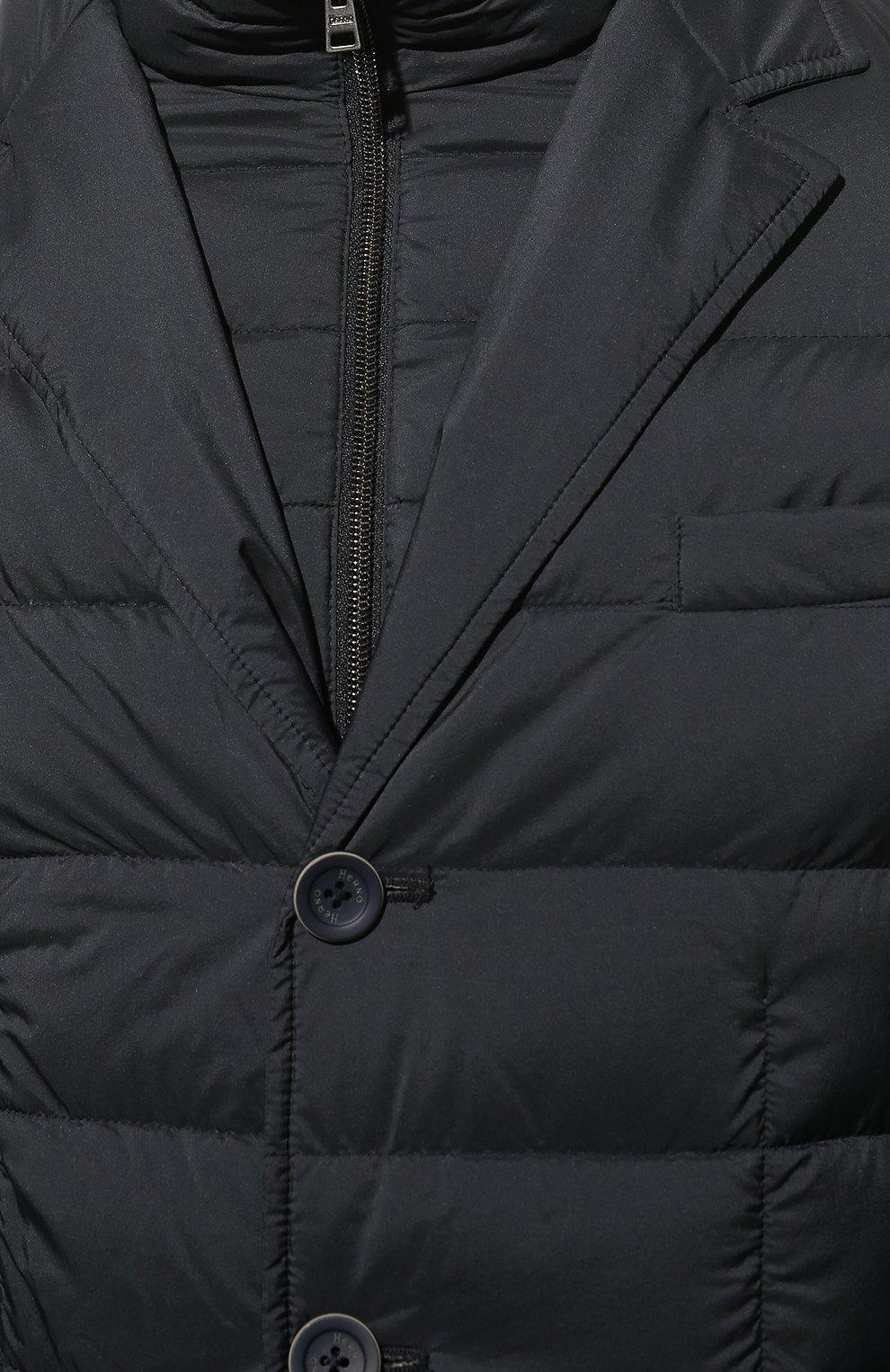 Мужская пуховая куртка HERNO синего цвета, арт. PI001ULE/19288 | Фото 5