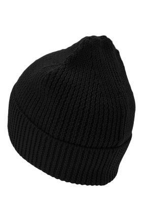 Мужская шапка MARCELO BURLON черного цвета, арт. CMLC007E20KNI002 | Фото 2