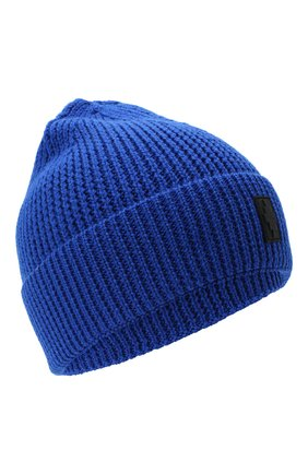 Мужская шапка MARCELO BURLON синего цвета, арт. CMLC007E20KNI002 | Фото 1