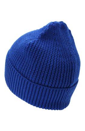 Мужская шапка MARCELO BURLON синего цвета, арт. CMLC007E20KNI002 | Фото 2