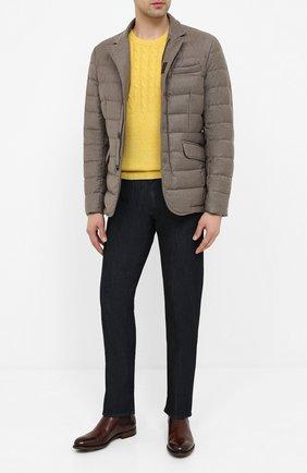 Мужская пуховая куртка zayn-l MOORER бежевого цвета, арт. ZAYN-L/A20M040LANA | Фото 2