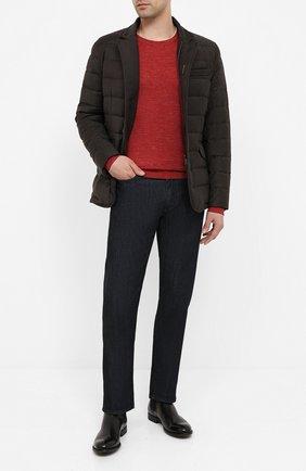 Мужская пуховая куртка zayn-l MOORER коричневого цвета, арт. ZAYN-L/A20M040LANA | Фото 2