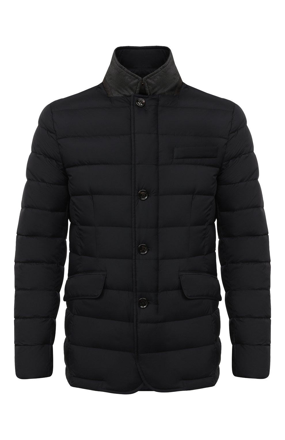 Мужская пуховая куртка zayn-op MOORER темно-синего цвета, арт. ZAYN-0P/A20M0410PAC | Фото 1