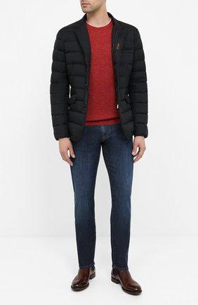 Мужская пуховая куртка zayn-op MOORER темно-синего цвета, арт. ZAYN-0P/A20M0410PAC | Фото 2