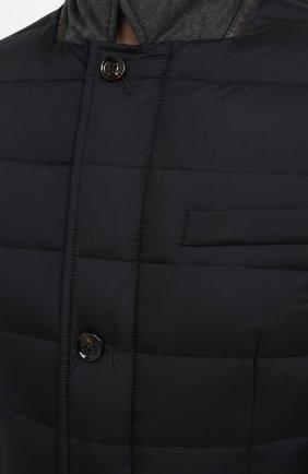 Мужская пуховая куртка zayn-op MOORER темно-синего цвета, арт. ZAYN-0P/A20M0410PAC | Фото 5