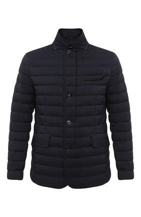 Мужская пуховая куртка zavyer-s3 MOORER темно-синего цвета, арт. ZAVYER-S3/A20M360REFL | Фото 1
