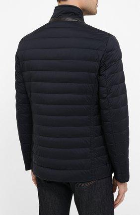 Мужская пуховая куртка zavyer-s3 MOORER темно-синего цвета, арт. ZAVYER-S3/A20M360REFL   Фото 4