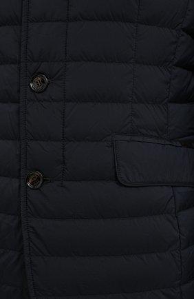 Мужская пуховая куртка zavyer-s3 MOORER темно-синего цвета, арт. ZAVYER-S3/A20M360REFL   Фото 5