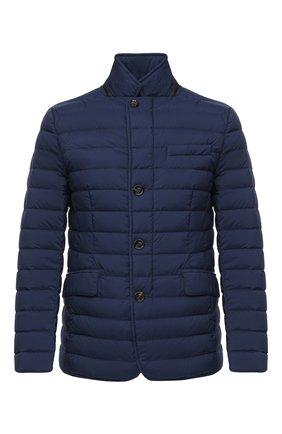 Мужская пуховая куртка zavyer-s3 MOORER синего цвета, арт. ZAVYER-S3/A20M360REFL | Фото 1