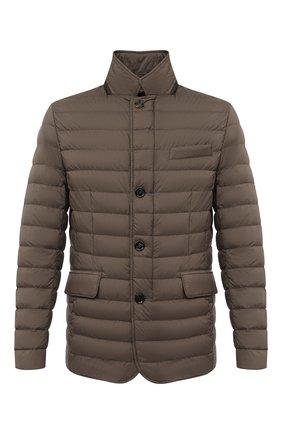 Мужская пуховая куртка zavyer-s3 MOORER бежевого цвета, арт. ZAVYER-S3/A20M360REFL | Фото 1