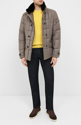 Мужская пуховая куртка siro-l MOORER бежевого цвета, арт. SIR0-L/A20M021LANA | Фото 2