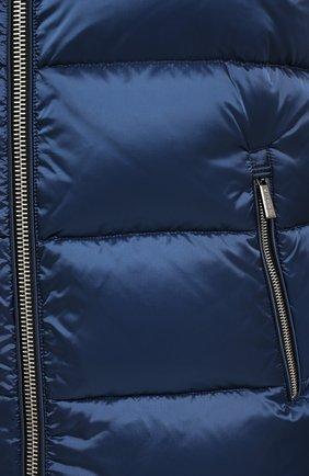 Мужской пуховый жилет perseo-sh MOORER синего цвета, арт. PERSE0-SH/A20M470N0TE | Фото 5