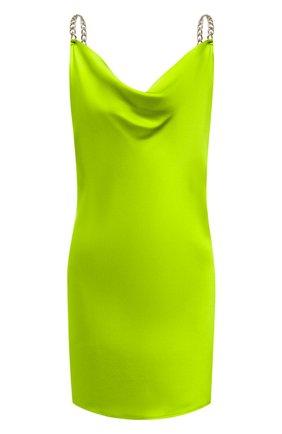 Женское шелковое платье OLIVIA VON HALLE зеленого цвета, арт. SS2061 | Фото 1