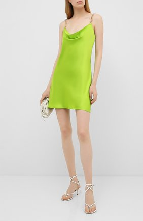 Женское шелковое платье OLIVIA VON HALLE зеленого цвета, арт. SS2061 | Фото 2