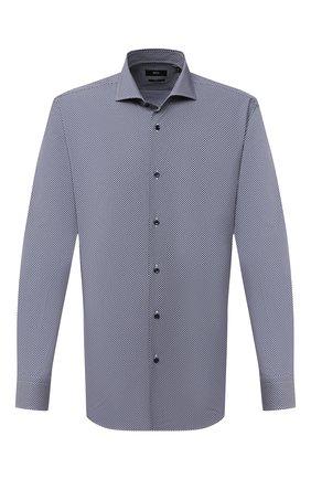 Мужская сорочка BOSS синего цвета, арт. 50433215 | Фото 1