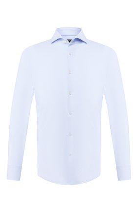 Мужская сорочка BOSS голубого цвета, арт. 50432537 | Фото 1