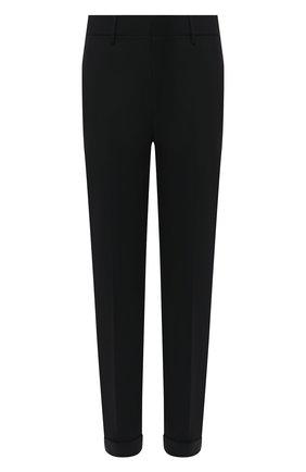Мужской брюки NEIL BARRETT черного цвета, арт. PBPA720A/P027 | Фото 1