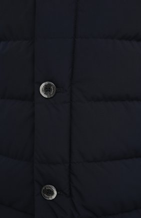 Мужская пуховик HERNO темно-синего цвета, арт. PI048UR/12015 | Фото 5