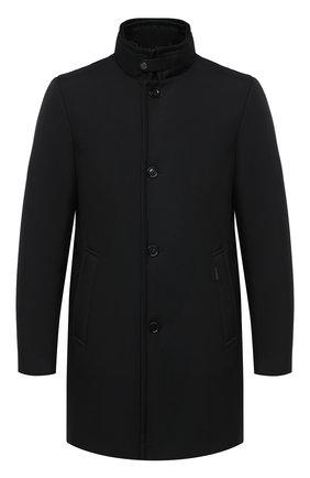 Мужская пуховое пальто MOORER черного цвета, арт. B0ND-WI/A20M061WIND | Фото 1
