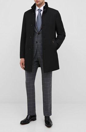 Мужская пуховое пальто MOORER черного цвета, арт. B0ND-WI/A20M061WIND | Фото 2