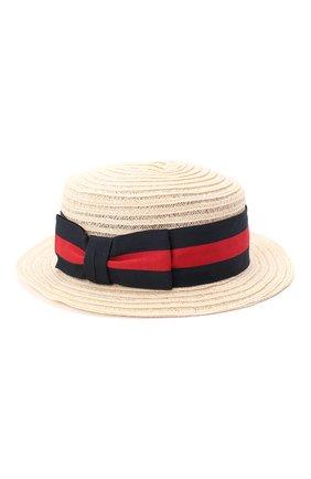 Детская шляпа GREVI светло-бежевого цвета, арт. 6087/TR1125 | Фото 2