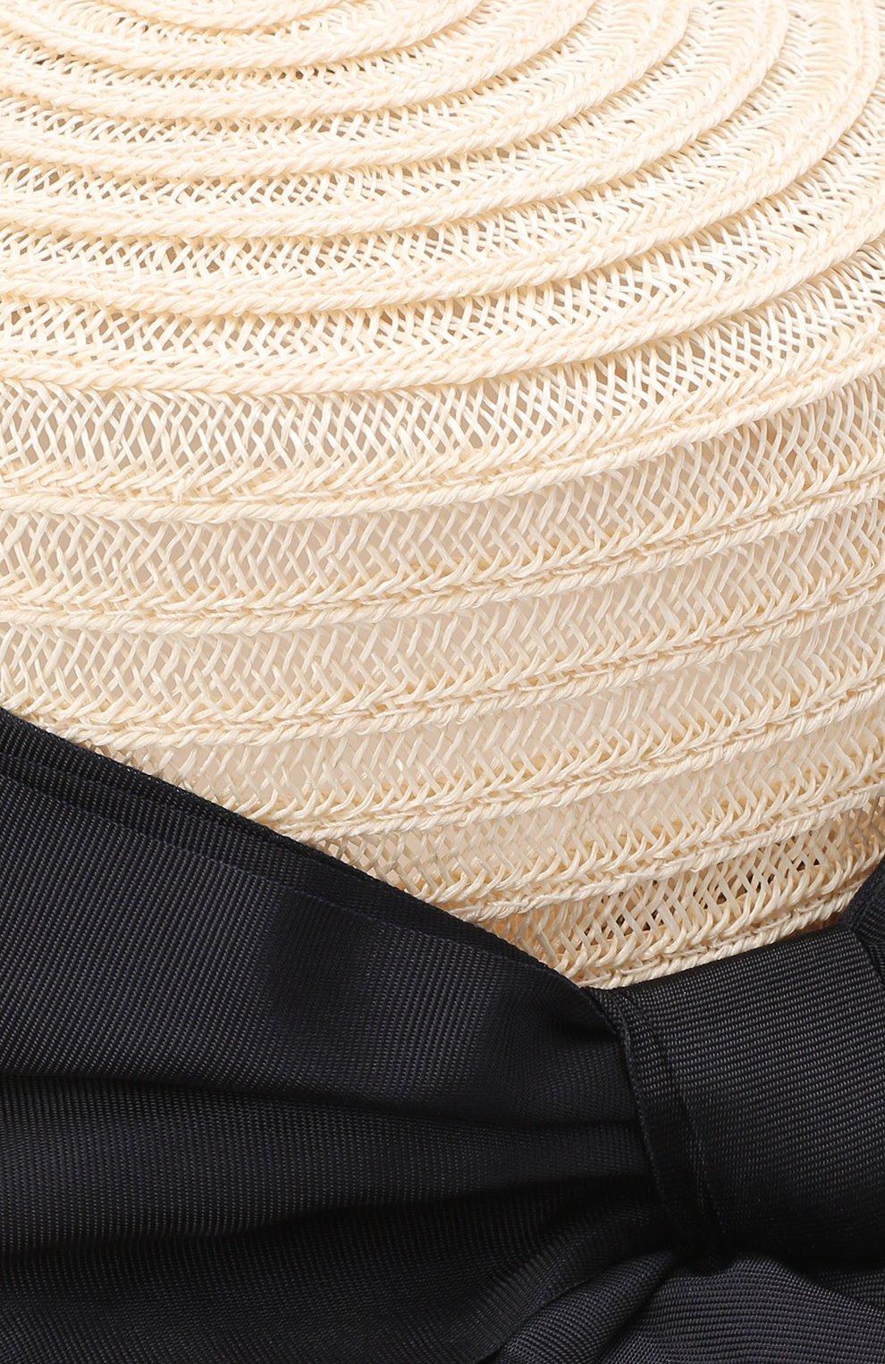 Детская шляпа GREVI светло-бежевого цвета, арт. 16087/TR1125 | Фото 3 (Материал: Растительное волокно)