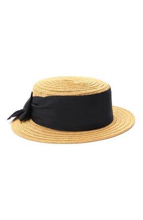 Детская шляпа GREVI светло-коричневого цвета, арт. 16087/TR1125 | Фото 1